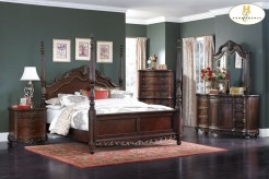 Homelegance Deryn Park Queen 5pc Poster Bedroom Group Available Online in Dallas Fort Worth Texas