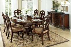 Homelegance Deryn Park 7pc Pedestal Dining Set Available Online in Dallas Fort Worth Texas