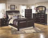 Ashley Ridgley 5pc Queen Sleigh Bedroom Group Available Online in Dallas Fort Worth Texas