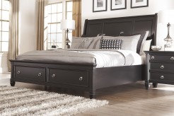 Ashley Greensburg Queen Sleigh Storage Bed Available Online in Dallas Fort Worth Texas