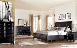Ashley Greensburg 5pc Cal King Sleigh Storage Bedroom Group Available Online in Dallas Fort Worth Texas