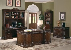 Tucker 5pc Executive Office Suite Available Online in Dallas Fort Worth Texas