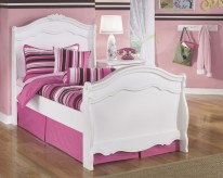 Ashley Exquisite Twin Sleigh Bed Available Online in Dallas Fort Worth Texas