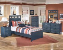 Leo 5pc Twin Panel Bedroom Group Available Online in Dallas Fort Worth Texas
