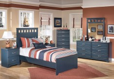 Leo 5pc Full Panel Bedroom Group Available Online in Dallas Fort Worth Texas