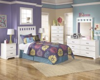 Lulu 5pc Full Panel Bedroom Group Available Online in Dallas Fort Worth Texas