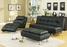Coaster Dilleston Black 3pc Sofa Bed Group Available Online in Dallas Fort Worth Texas