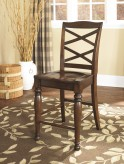 Ashley Porter Rustic Brown Barstool Available Online in Dallas Fort Worth Texas