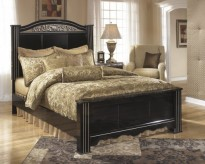 Ashley Constellations King Poster Bed Available Online in Dallas Fort Worth Texas