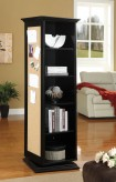 Coaster Black Hall Tree Swivel Mirror Storage Pin Up Board Available Online in Dallas Fort Worth Texas