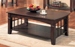 Coaster Anka Cherry Coffee Table Available Online in Dallas Fort Worth Texas