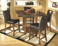 Lacey 5pc Square Counter Height Dining Set Available Online in Dallas Fort Worth Texas