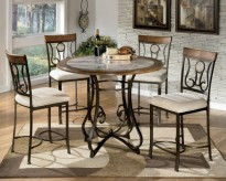 Ashley Hopstand Round Counter Height Table Available Online in Dallas Fort Worth Texas
