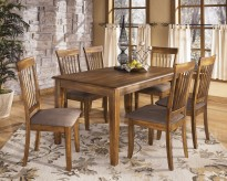 Berringer 7pc Rectangular Dining Room Set Available Online in Dallas Fort Worth Texas