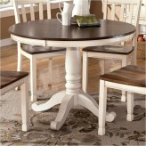 Ashley Whitesburg Round Dining Table Available Online in Dallas Fort Worth Texas