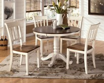 Ashley Whitesburg 5pc Round Dining Room Set Available Online in Dallas Fort Worth Texas