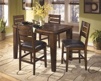 Ashley Larchmont 5pc Counter Height Dining Set Available Online in Dallas Fort Worth Texas