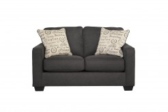 Alenya Charcoal Loveseat Available Online in Dallas Fort Worth Texas