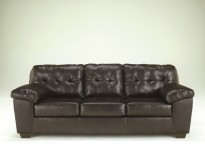 Alliston DuraBlend Chocolate Sofa Available Online in Dallas Fort Worth Texas