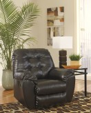 Alliston DuraBlend Chocolate Rocker Recliner Available Online in Dallas Fort Worth Texas