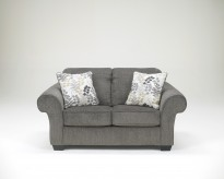 Ashley Makonnen Charcoal Loveseat Available Online in Dallas Fort Worth Texas