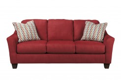 Ashley Hannin Red Sofa Available Online in Dallas Fort Worth Texas