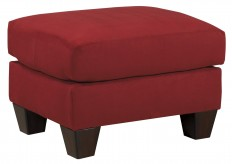 Ashley Hannin Red Ottoman Available Online in Dallas Fort Worth Texas