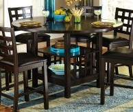 Homelegance Glendine Dark Espresso Counter Height Table Available Online in Dallas Fort Worth Texas