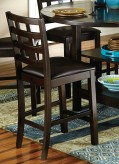 Homelegance Glendine Dark Espresso Counter Height Chair Available Online in Dallas Fort Worth Texas