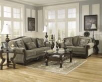 Ashley Martinsburg 2pc Sofa & Loveseat Set Available Online in Dallas Fort Worth Texas