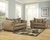 Darcy Mocha Sofa & Loveseat Set Available Online in Dallas Fort Worth Texas