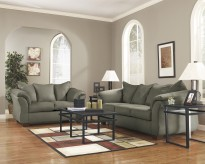 Darcy Sage Sofa & Loveseat Set Available Online in Dallas Fort Worth Texas