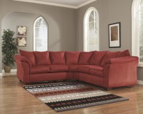 Darcy 2pc Salsa Sectional Available Online in Dallas Fort Worth Texas