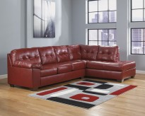 Alliston DuraBlend 2pc Sectional Right Side Chaise Available Online in Dallas Fort Worth Texas
