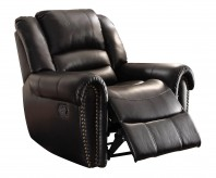 Center Hill Black Glider Reclining Chair Available Online in Dallas Fort Worth Texas