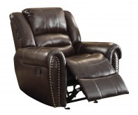 Center Hill Dark Brown Glider Reclining Chair Available Online in Dallas Fort Worth Texas
