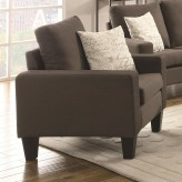 Coaster Bachman Grey Chair Available Online in Dallas Fort Worth Texas