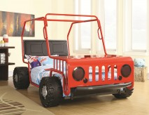 Jeep Red/Black Car Bed Available Online in Dallas Fort Worth Texas