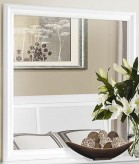 Mayville White Mirror Available Online in Dallas Fort Worth Texas