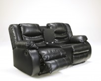Linebacker Black Console Loveseat Available Online in Dallas Fort Worth Texas