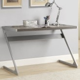 Bluetooth Weathered Wood Desk Available Online in Dallas Fort Worth Texas