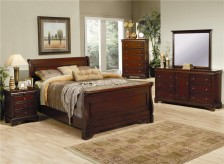 Coaster Chesterville 5pc Queen Sleigh Bedroom Group Available Online in Dallas Fort Worth Texas