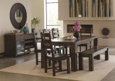 Coaster Calabasas 6pc Dining Room Set Available Online in Dallas Fort Worth Texas