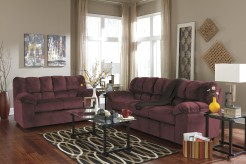 Ashley Julson Burgundy Sofa & Loveseat Set Available Online in Dallas Fort Worth Texas