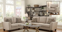 Homelegance Adair Beige 2pc Living Room Set Available Online in Dallas Fort Worth Texas