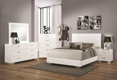 Coaster Felicity Queen Panel 5pc Bedroom Group Available Online in Dallas Fort Worth Texas