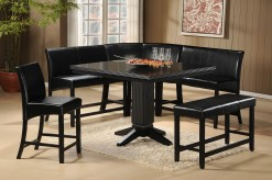 Papario 7pc Corner Nook Counter Height Dining Set Available Online in Dallas Texas