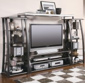 Coaster Uptown 4pc Wall Unit Available Online in Dallas Fort Worth Texas