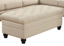 Coaster Roy Oatmeal Ottoman Available Online in Dallas Fort Worth Texas
