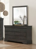 Homelegance Mayville Grey Mirror Available Online in Dallas Fort Worth Texas